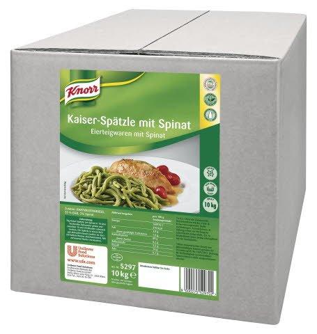 Knorr Kaiser-Spätzle mit Spinat 10 KG -