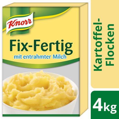 Knorr Kartoffel- Flocken Fix- Fertig mit entrahmter Milch 4 KG