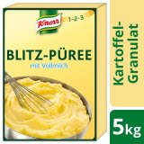 Knorr Kartoffel- Granulat Blitz- Püree mit Vollmilch 5 KG