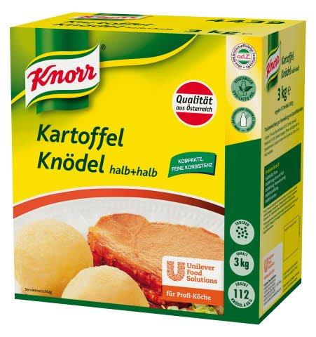 Knorr Kartoffel-Knödel halb+halb 3 KG