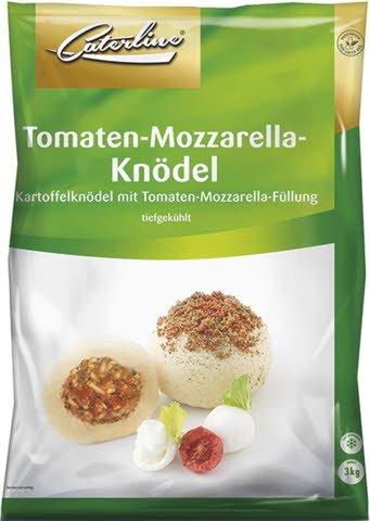 Caterline Kartoffelknödel mit Tomaten-Mozzarella-Füllung 3 KG (30 Stk. á ca. 100 g) -