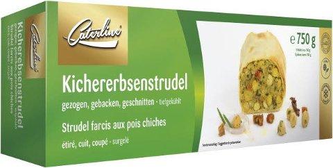 Caterline Kichererbsenstrudel vegan 750 g -