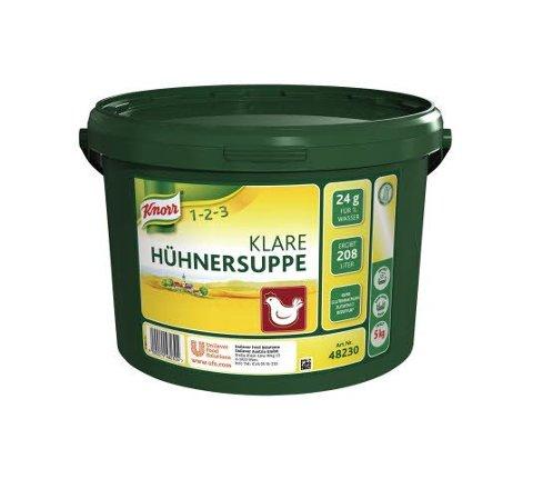 Knorr Klare Hühnersuppe 5 KG