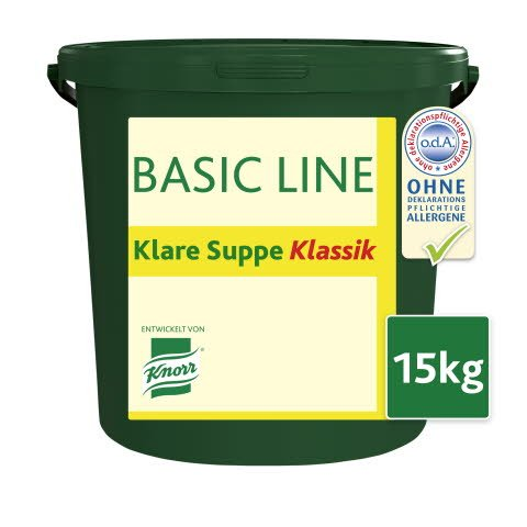 Basic Line Klare Suppe Klassik 15 KG