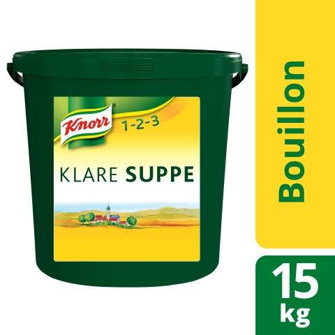 Knorr Klare Suppe rein pflanzlich 15 KG