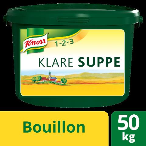 Knorr Klare Suppe rein pflanzlich 50 KG - KNORR Klare Suppe - für mehr Geschmack in vegetarischen Gerichten.