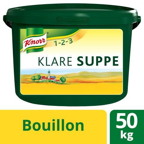 Knorr Klare Suppe rein pflanzlich 50 KG