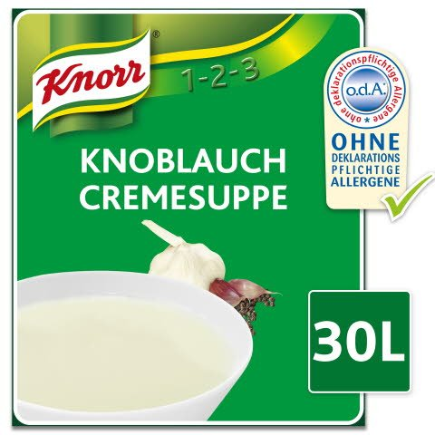 Knorr Knoblauch Cremesuppe 2,7 KG