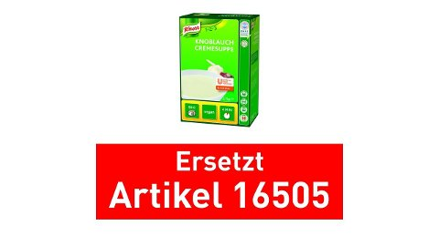 Knorr Knoblauch Cremesuppe 2,7 KG -