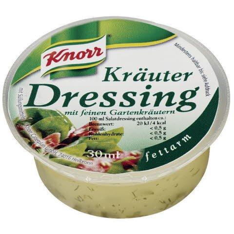 Knorr Kräuter Dressing 1,5 L (50 x 30 ml) -