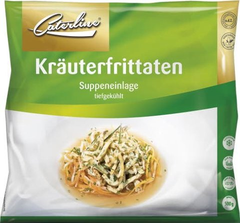 Caterline Kräuterfrittaten 500 g (13 Portionen à ca. 40 g) -