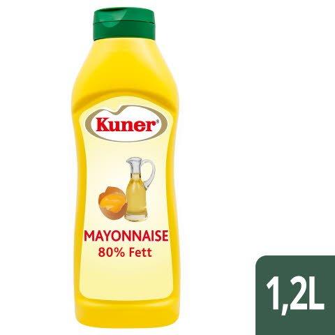 Kuner Mayonnaise 80% Fett 1,2 L