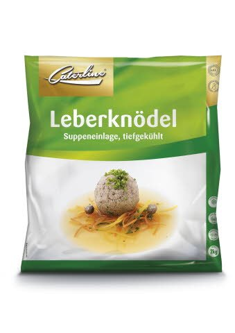 Caterline Leberknödel 2 KG (50 Portionen á ca. 40 g) -