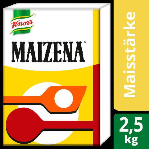 Maizena 2,5 KG - MAIZENA - glänzende Bindung bei authentischer Farbe & Geschmack.