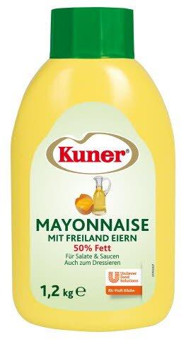 Kuner Mayonnaise 50% Fett 1,2 KG