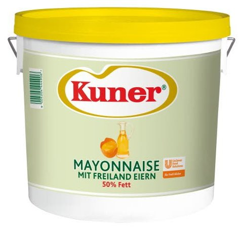 Kuner Mayonnaise 50% Fett 5 KG -