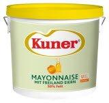 Kuner Mayonnaise 50% Fett 15 KG -