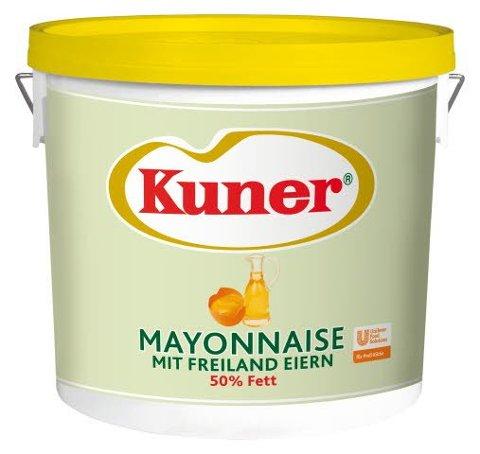 Kuner Mayonnaise 50% Fett 15 KG