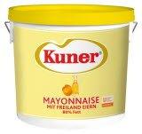 Kuner Mayonnaise Traiteur 80% Fett 15 KG -