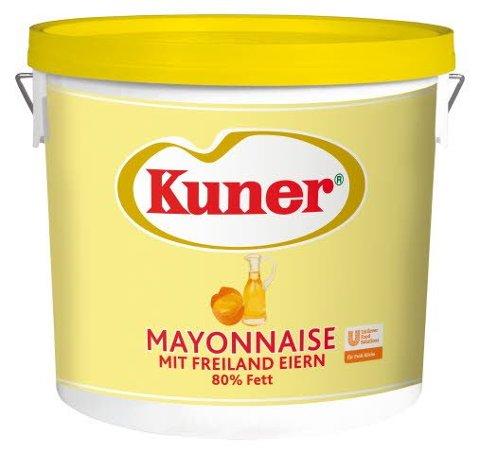 Kuner Mayonnaise Traiteur 80% Fett 15 KG