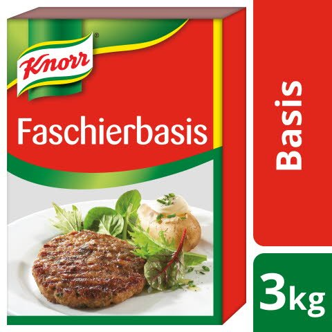 Knorr Faschierbasis / Basis für Hackbraten 3 KG -