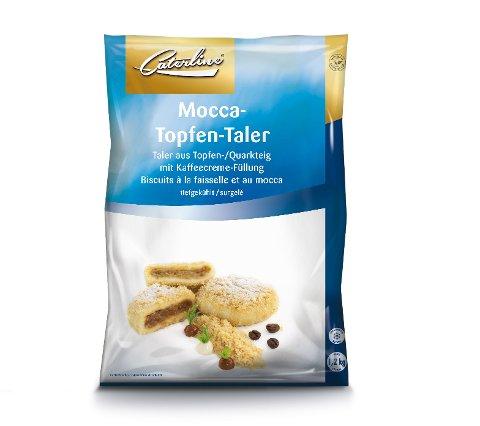 Caterline Mocca-Topfen-Taler roh 1,2 KG -