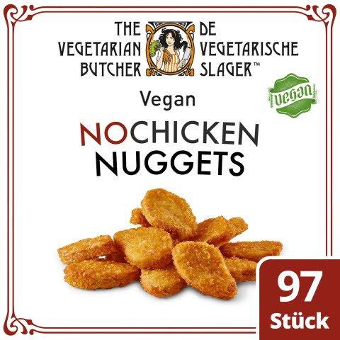 The Vegetarian Butcher - No Chicken Nuggets - Vegane Nuggets auf Soja-Basis 1,75 KG -