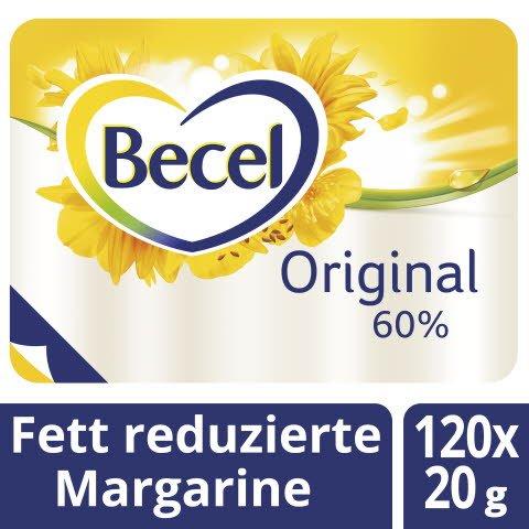 Becel Original Fettreduzierte Margarine 60% Fett 120 x 20 g