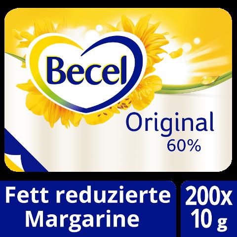 Becel Original Fettreduzierte Margarine 60% Fett 200 x 10 g