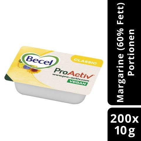 Becel Original Portionspackung 60% Fett 200x 10g