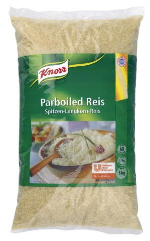 Knorr Parboiled Reis 5 KG