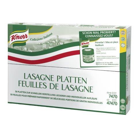 Knorr Pasta Lasagne-Platten 10 KG
