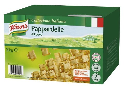 Knorr Pasta Pappardelle all´uovo 2 KG -