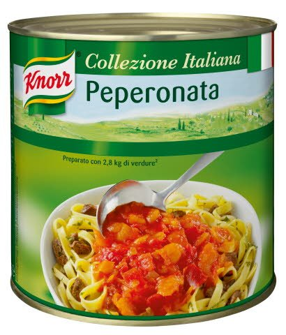 Knorr Peperonata Paprikasauce stückig 2,6 KG