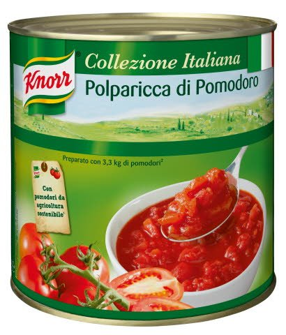 Knorr Polparicca geschälte Tomaten stückig 2,55 KG -