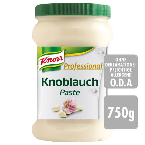 Knorr Professional Knoblauch Paste 750 g