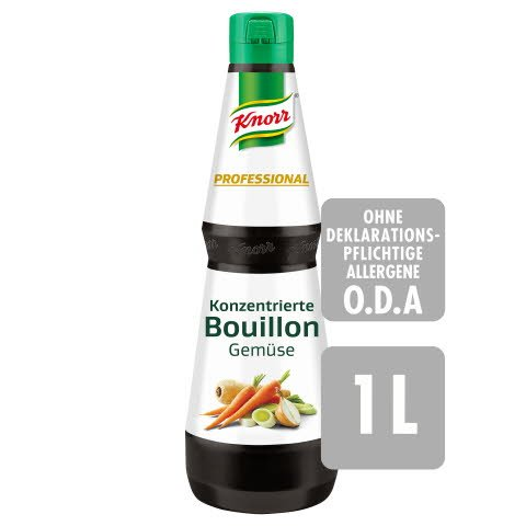 Knorr Professional Konzentrierte Bouillon Gemüse 1 L
