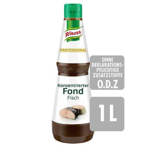 Knorr Professional Konzentrierter Fond Fisch 1 L - Abrunden in Perfektion: KNORR PROFESSIONAL Konzentrierte Bouillons und Fonds.