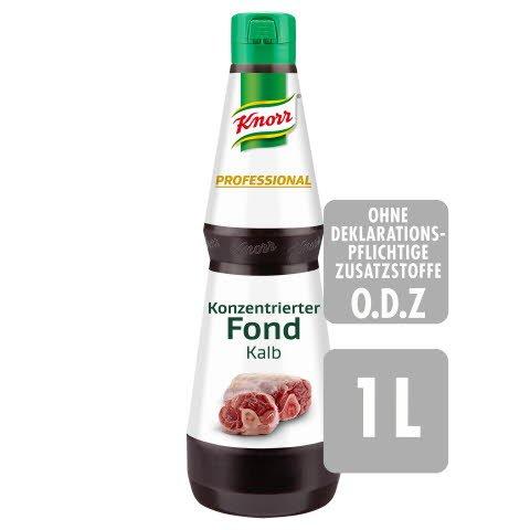 Knorr Professional Konzentrierter Fond Kalb 1 L - Abrunden in Perfektion: KNORR PROFESSIONAL Konzentrierte Bouillons und Fonds.