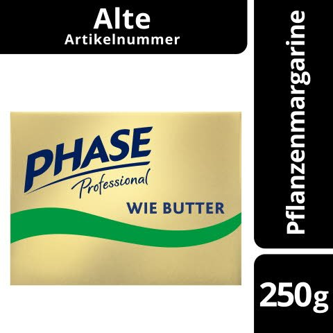 Phase Professional wie Butter zu verwenden Streichfett (72% Fett) 250 g