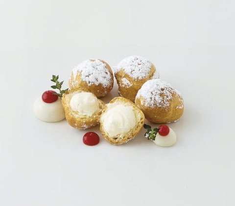Caterline Profiteroles 3 KG (6 Stk. á ca. 500 g) -