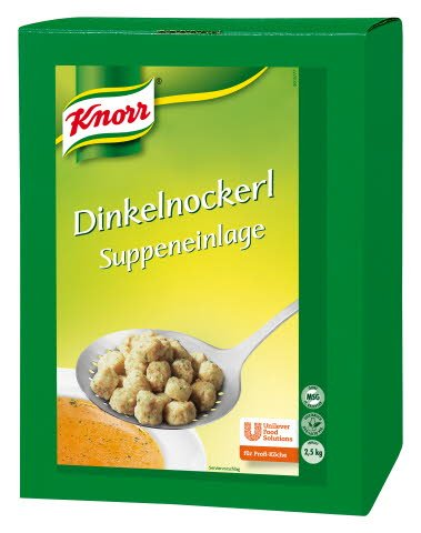 Knorr Pure Linie Dinkelnockerl 2,5 KG -