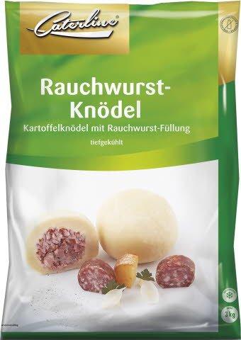 Caterline Rauchwurst-Knödel 3 KG (30 Stk. á ca. 100 g) -