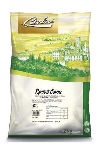 Caterline Ravioli Carne 2 KG