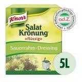 Knorr Salatkrönung flüssig Sauerrahm-Dressing mit Knoblauch & Kräutern 5 L