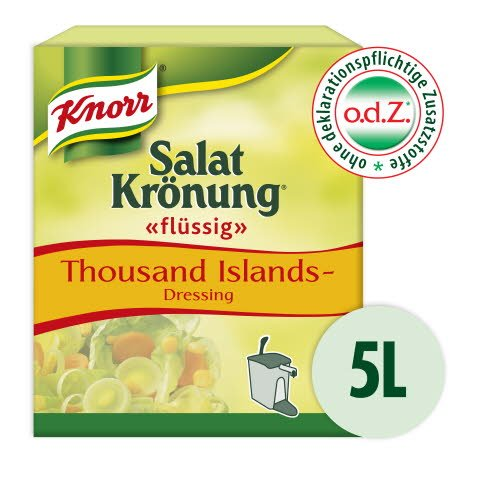 Knorr Salatkrönung flüssig Thousand Islands 5 L -