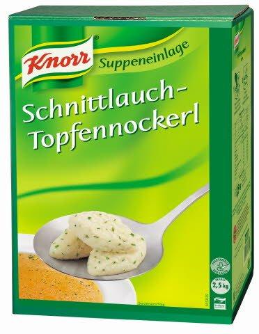 Knorr Schnittlauch-Topfennockerl 2,5 KG