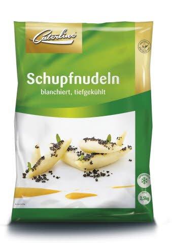 Caterline Schupfnudeln 2,5 KG (25 Portionen á ca. 100 g)