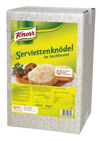 Knorr Serviettenknödel im Kochbeutel 5 KG -