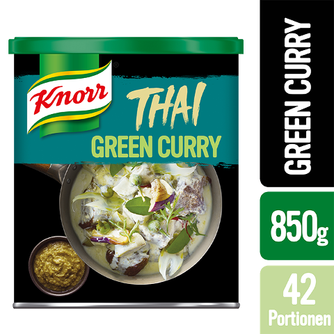 Knorr Thai Green Curry Paste 850 g - Authentische Produkte mit Zutaten aus Thailand.